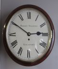 English dial clock  Robert Salsbury Guildford