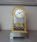 Empire period French clock by Martina