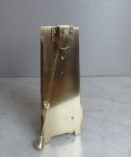 English verge wall clock W Johnson London